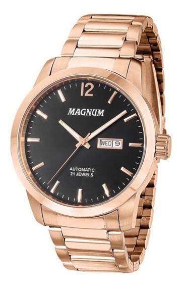 Relógio Magnum Automático Masculino Ma33835p