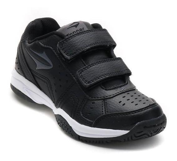 Zapatillas Topper Modelo Tenis Niños Rookie Velcro - (23068)