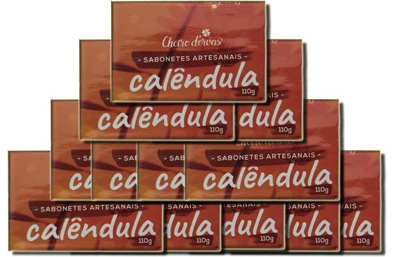 Kit Com 12 Sabonetes 110g De Calêndula - Cheiro D
