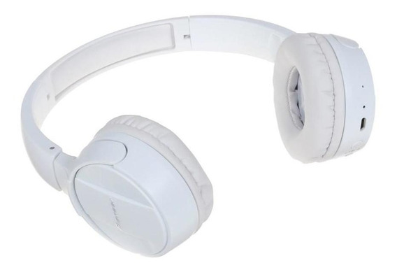 Fone De Ouvido Bluetooth Com Microfone Pioneer Branco