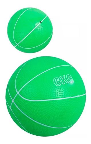 Balon Peso Pelota Medicinal 6 Kg Gymball Crossfit Gimnasio