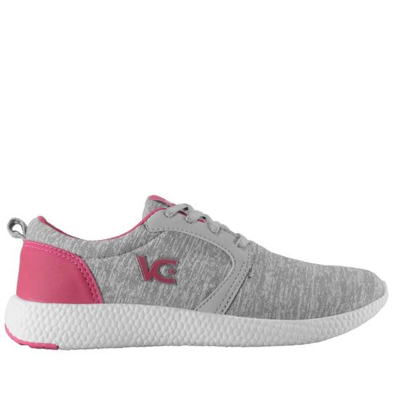 Tênis Boost Feminino Vanscy Cinza/pink