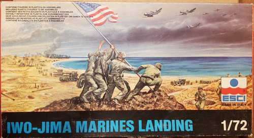 Iwo Jima Marines 1:72