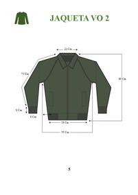 Jaqueta V O Exército E Camisa Bege Manga Longa - Promoção