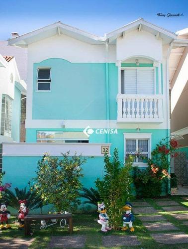 Imagem 1 de 22 de Casa Com 3 Dormitórios À Venda, 131 M² Por R$ 530.000,00 - Condomínio Green View - Indaiatuba/sp - Ca2451