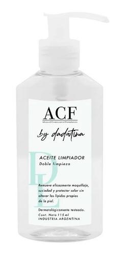 Acf By Dadatina Aceite Limpiador Doble Limpieza 115ml