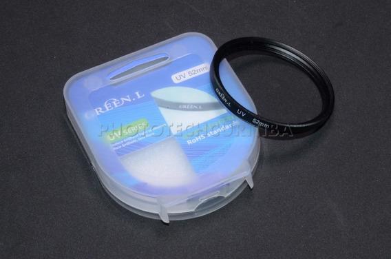 Filtro Uv 52mm Green.l Filtro Ultra Violeta