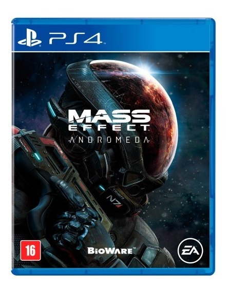 Mass Effect Andromeda - Ps4 Psn Code 2 Envio Já