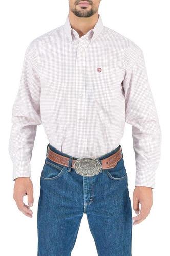 Imagen 1 de 6 de Camisa Vaquera Wrangler Hombre Western M 722