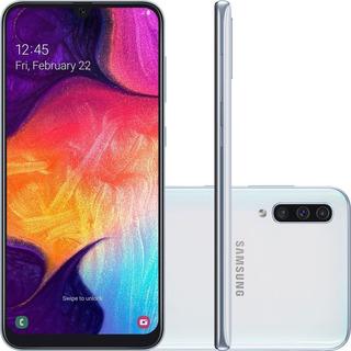 Celular Samsung A50 Branco 128gb 4g 6.4