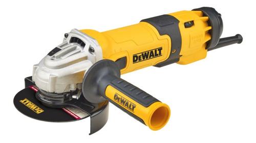 Esmerilhadeira angular DeWalt DWE4336 de 50Hz/60Hz amarela 220V