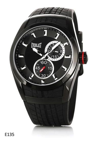 Relógio Pulso Everlast Esportivo Aço Masculino E135