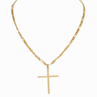 Colar Crucifixo Palito