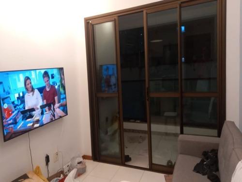Imagem 1 de 15 de Apartamento 1/4 E Sala Sendo 1 Suíte 48m2 À Venda Na Pituba - Tpa599 - 69877869