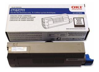 Toner Original Oki C711 Negro Alto Rendimiento 44318604