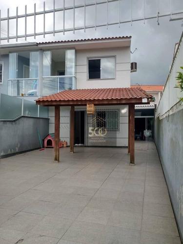 Imagem 1 de 21 de Sobrado Com 2 Dormitórios À Venda, 175 M² Por R$ 245.100,00 - Potecas - São José/sc - So0153