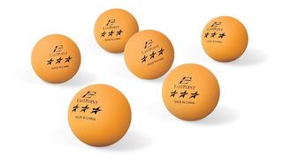Pelotas De Tenis De Mesa Paquete De 6 Naranjas Ping Pong