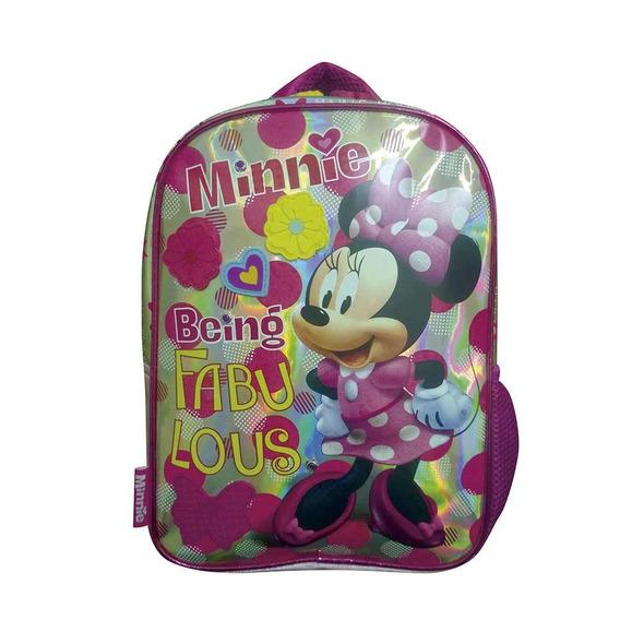 Mochila 12 PuLG. Minnie Sobre Ruedas Originales - Art. Km727