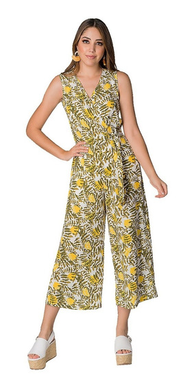 Jumpsuit Palazzo Mujer Completo Elegante Casual Playa Moda