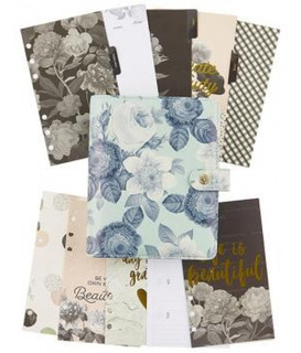 Simple Stories - Planner Carpe Diem - Mint Vintage Floral