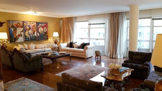 Apartamento Em Higienópolis, São Paulo/sp De 330m² 4 Quartos Para Locação R$ 10.000,00/mes - Ap549567