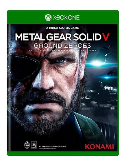 Metal Gear Solid V Ground Zeroes Xbox One Mídia Física