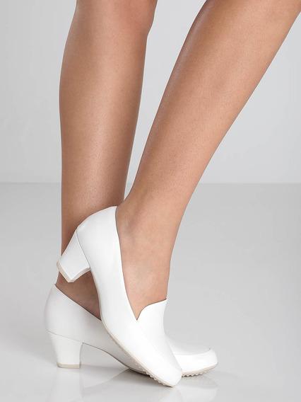 Sapato Salto Grosso Piccadilly