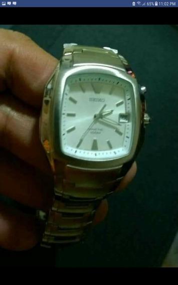 Reloj Seiko Kinetic 5m62 0bg0 Nuevo Y Original