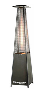 Calefactor Exterior Estufa Piramide Llamas Inox Nuevo!