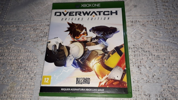 Over Watch Origin. Completo Xbox One Fisica Requer Live Gold