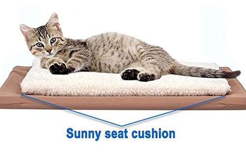 Imagen 1 de 1 de Cojin Para Ventana Montado Gato Cama