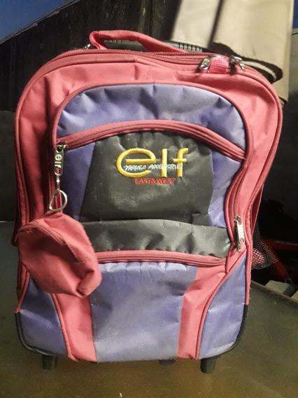 Mochila East & West Elf Travelaccessorles Para Nena