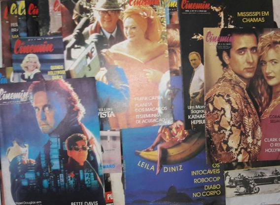 Revistas Cinemin Editora Ebal Lote Com 36 Unidades