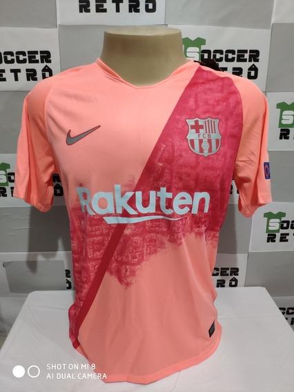 Camisa Barcelona Rosa Mercadolivre Com Br