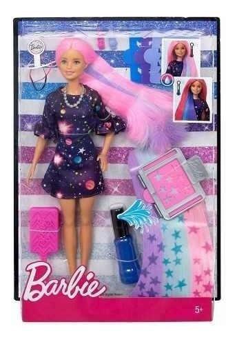 Barbie Cabelos Coloridos - Mattel Fhx00 Frete Gratis