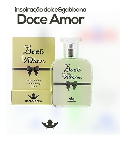 Bortoletto Doce Amor 100ml - Inspirado Dolce & Gabbana