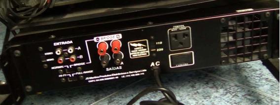 Amplificador Potencia, A.k.i - 1200 Semi Novo