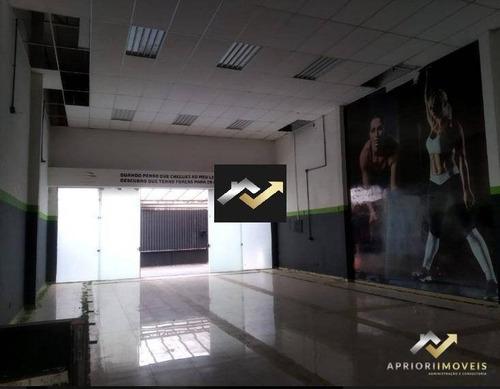 Galpão Para Alugar, 235 M² Por R$ 12.000,00/mês - Jardim - Santo André/sp - Ga0091