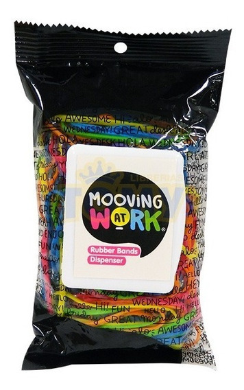 Bandas Elasticas Mooving Multicolor 100 Grs 5 Cm Diametro