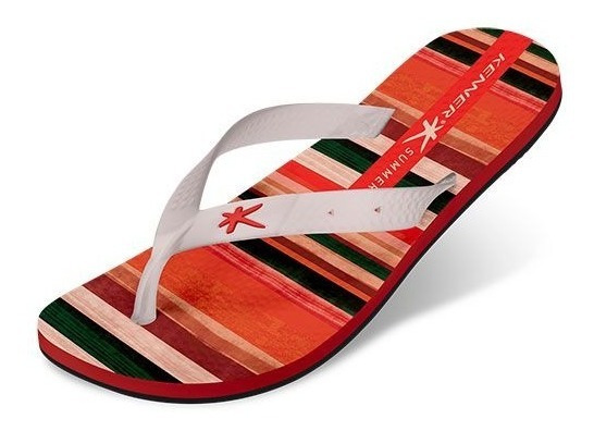 Chinelo Masculino Adulto Kenner Summer Stripes