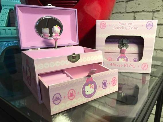 Hello Kitty Alhajero Musical Bailarina Joyeria Sanrio