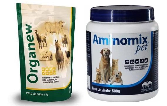 Organew 1 Kg + Aminomix Pet Pó 500g Vetnil Val