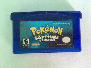 Pokémon Sapphire Version - Game Boy Advance