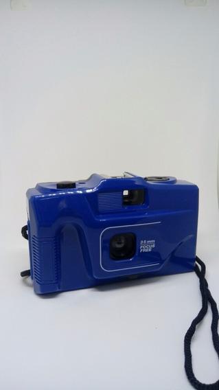 Maquina Fotográfica Com Alça Alta Analógica Retrô Vintage