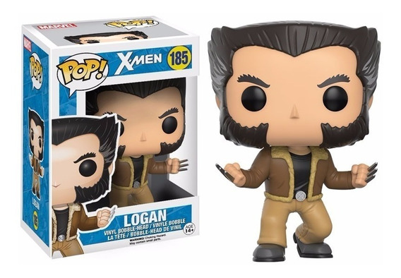 Funko Pop! X Men Logan Wolverine #185 Pronta Entrega