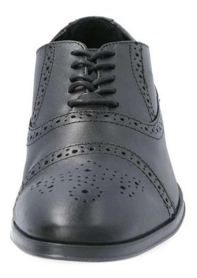 Zapatos Dockers Piel Para Hombre Con Agujetas Bostoniano