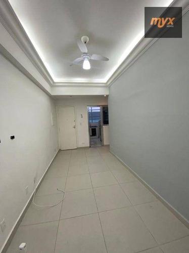 Apartamento Com 1 Dormitório Para Alugar, 45 M² Por R$ 1.700,00/mês - Ponta Da Praia - Santos/sp - Ap3824