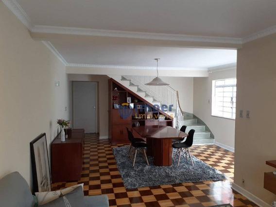 Casa Com 3 Dormitórios À Venda, 200 M² Por R$ 1.265.000,00 - Perdizes - São Paulo/sp - Ca1342