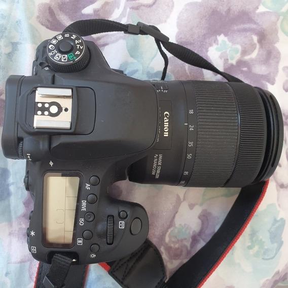 Canon Eos 80d. Conjunto Com Lente 18-135 Canon.