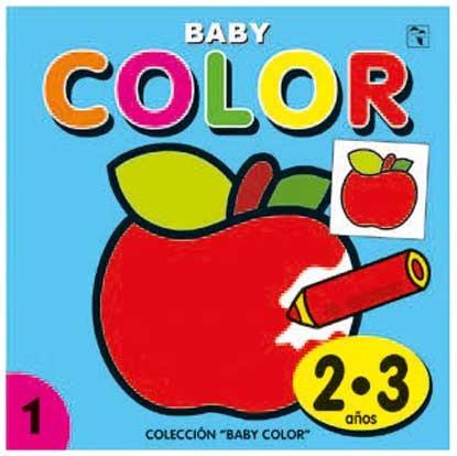 Baby Color Manzana Linea Para Pintar Plow 0005